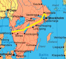 2018 Study Tour Route