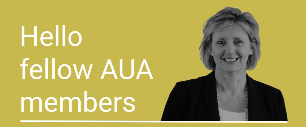 Hello fellow AUA members